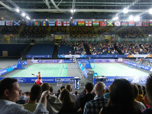 Badminton Commonwealth Nations Flags